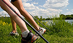 Nordic Walking. In Riesa.
